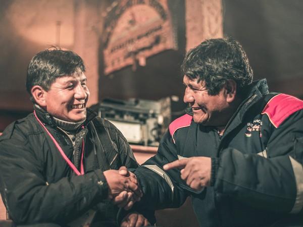 Miembros del Directorio de los hoteles y de la Asociación Comunitaria ACOTA (Zoniquero)
